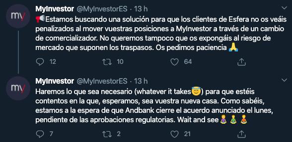 Imagen Twitter MyInvestor
