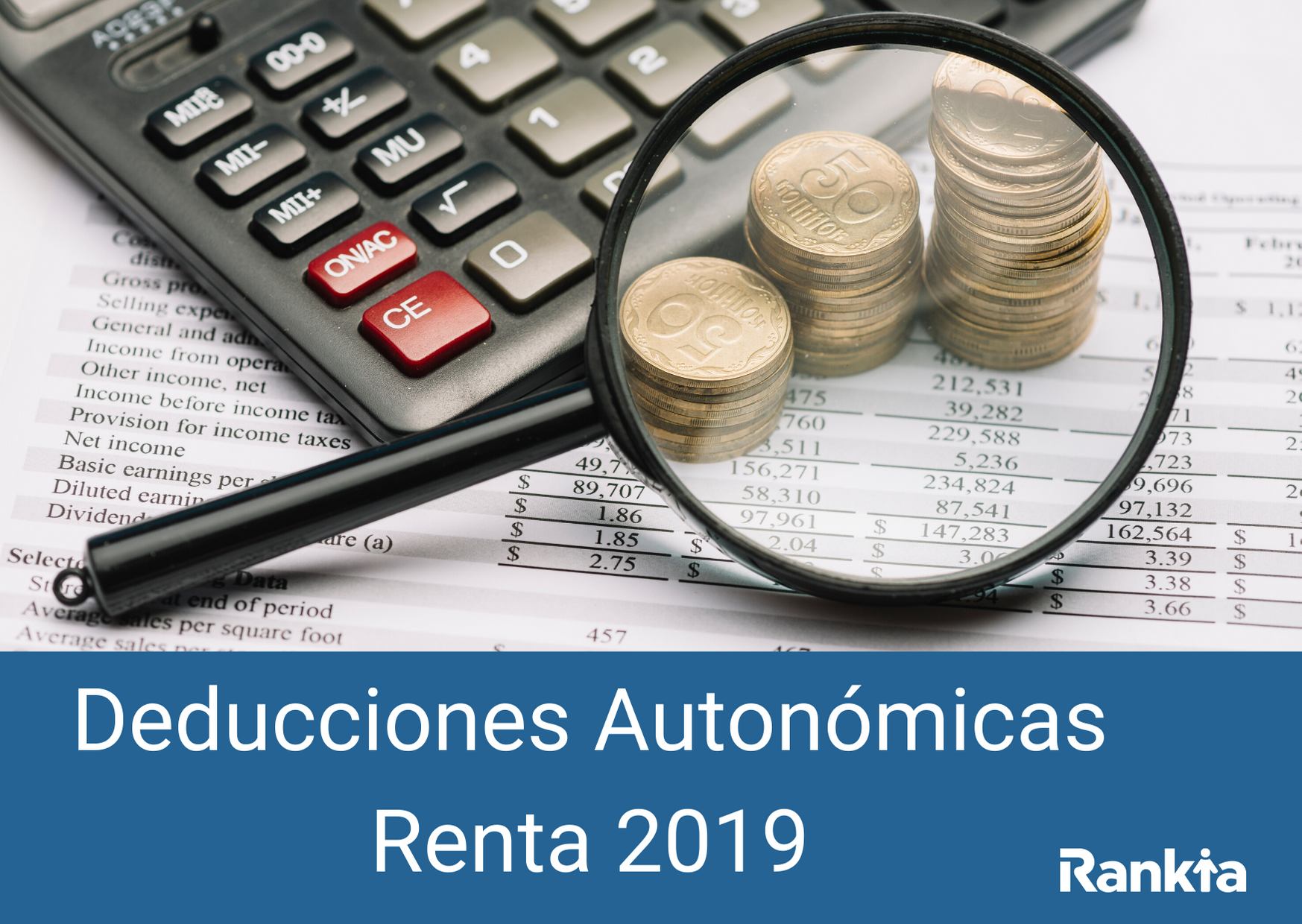 Deducciones Autonómicas Renta 2019