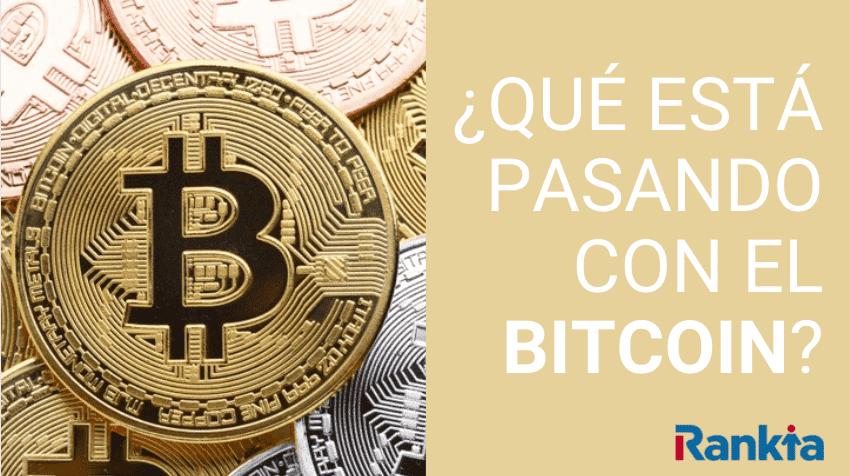 Imagen qué está pasando con el bitcoin