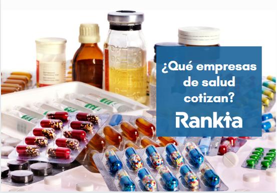 ¿Qué empresas de salud cotizan?