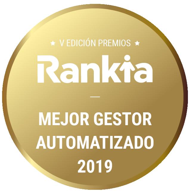 Mejor gestor automatizado Premio Rankia
