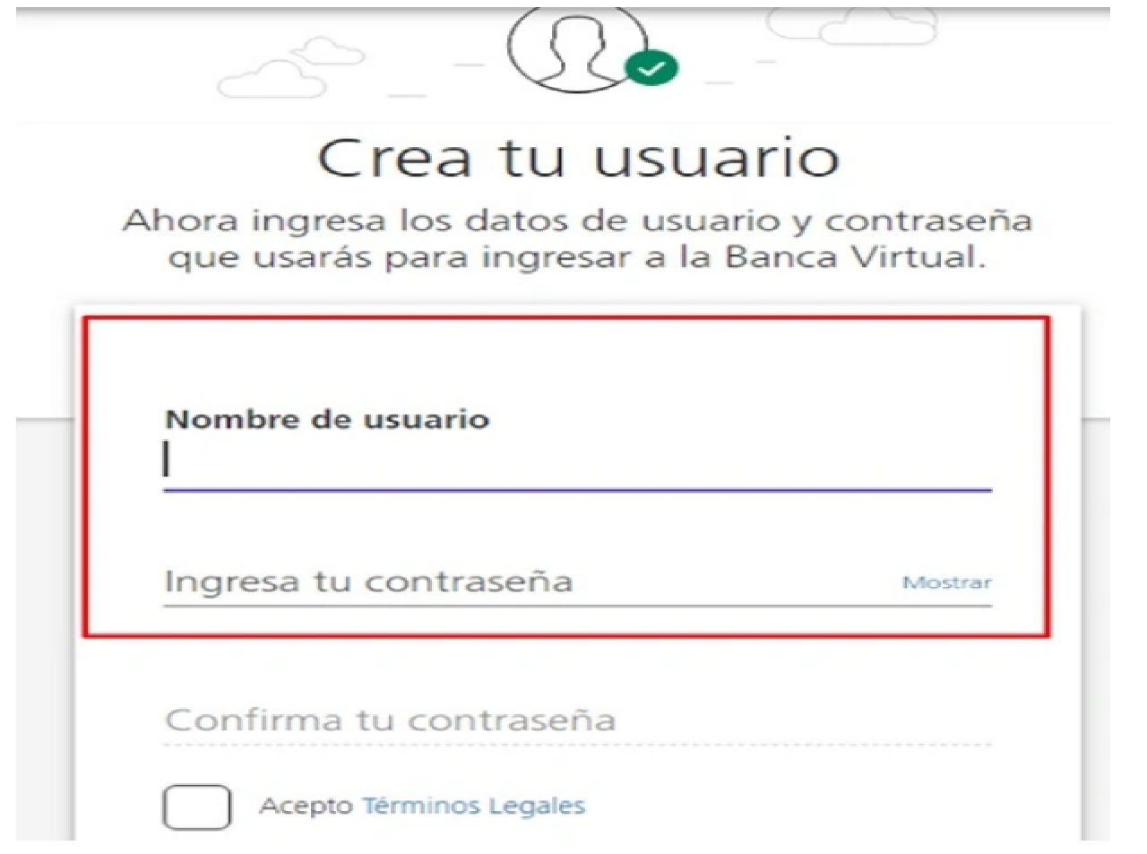 Colpatria banca virtual: ¿Cómo registrarse? Paso 5