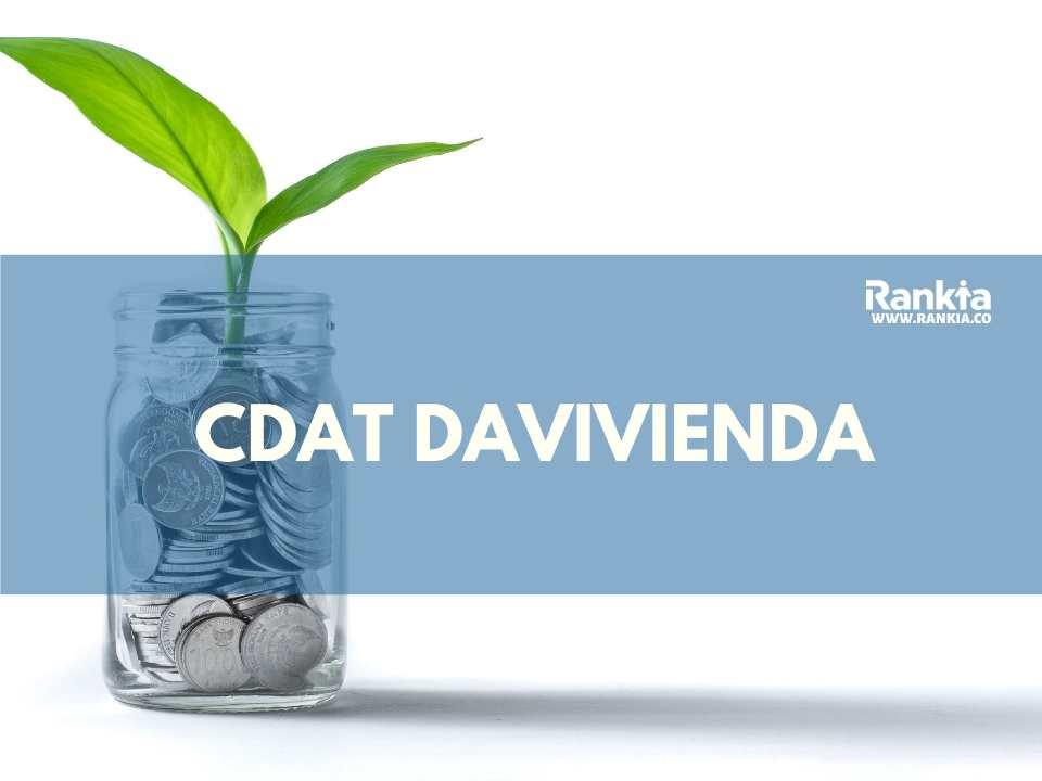 CDAT Davivienda: características, beneficios y tasas