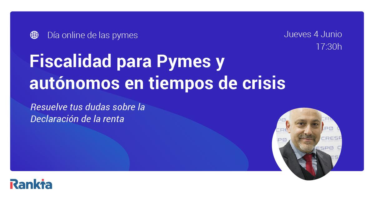 Fiscalidad para Pymes y autónomos