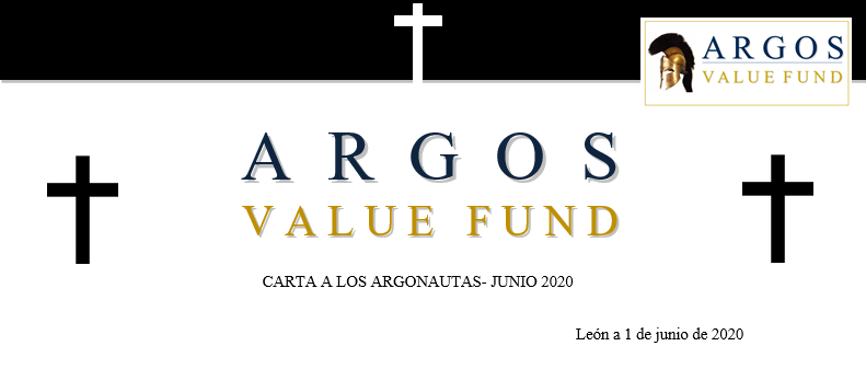 Carta de Argos Value Capital junio 2020