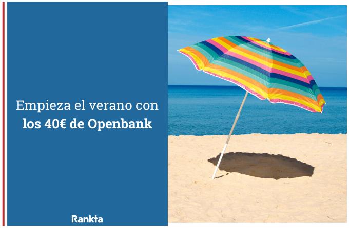 promocion 40€ openbank