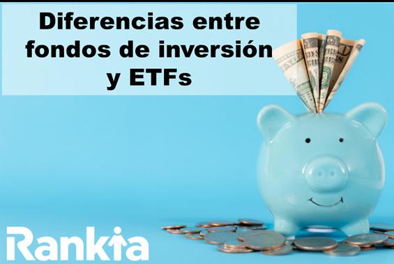 Diferencias entre fondos de inversión y ETFs
