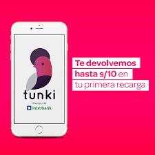 ¿Cómo enviar y recibir dinero con Tunki App?
