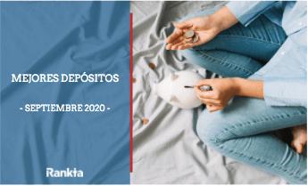 Mejores depósitos septiembre 2020