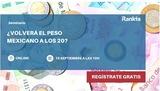 ¿Volverá el peso mexicano a los 20?