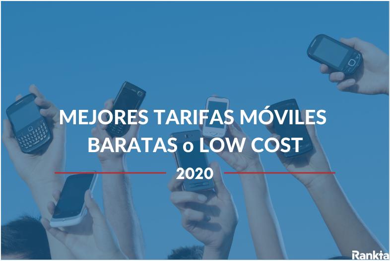 mejores tarifas móviles low cost 2020