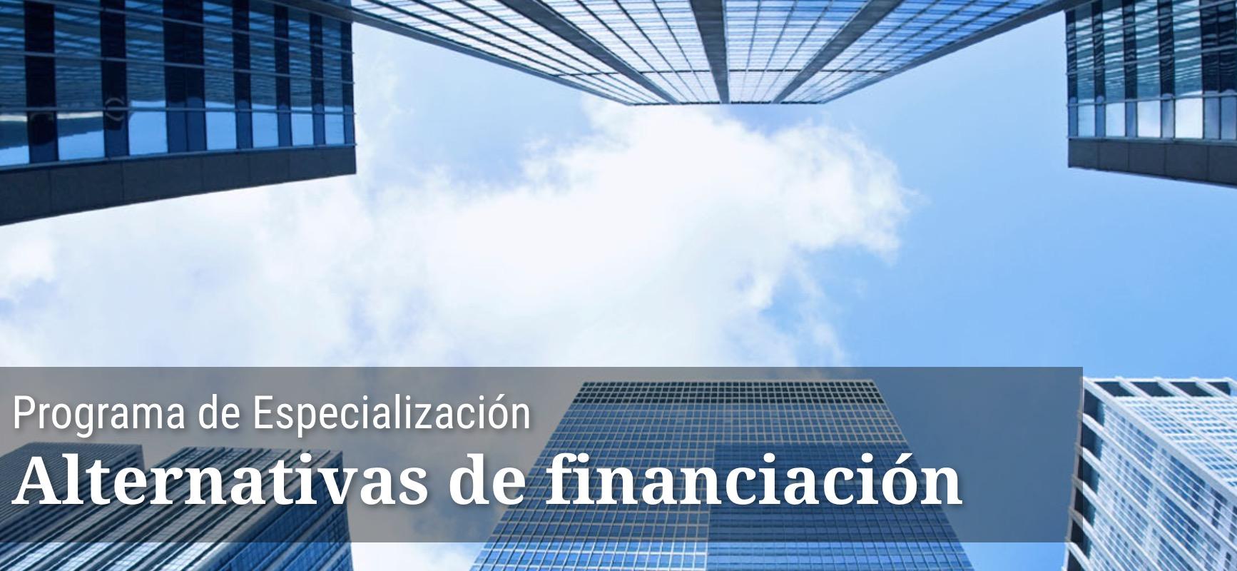 Programa de Especialización IEB: Alternativas de financiación