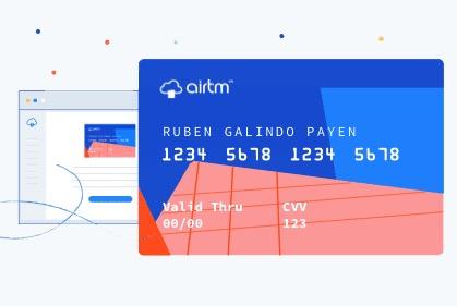 Tarjeta virtual Airtm: requisitos, beneficios y comisiones