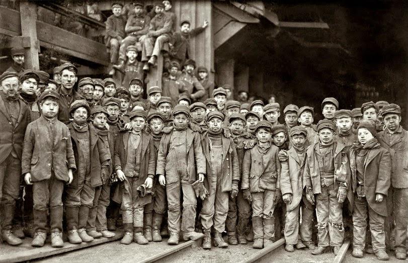 niños y malas condiciones