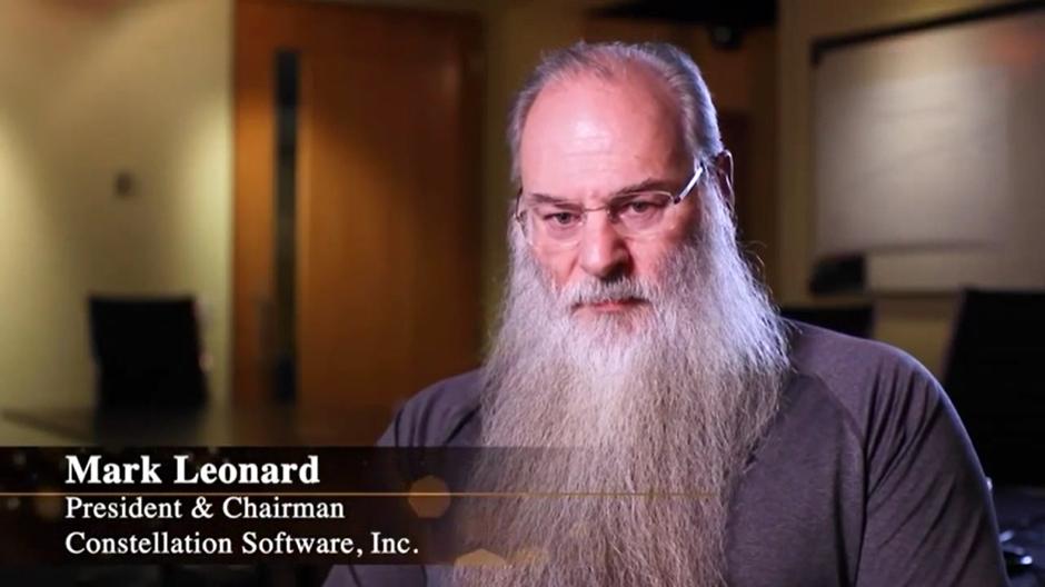 Mark Leonard, Presidente de Constellation Software