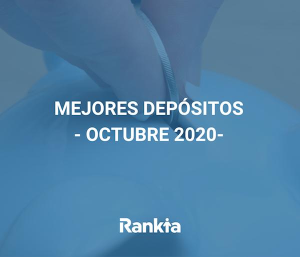 Mejores depósitos octubre 2020