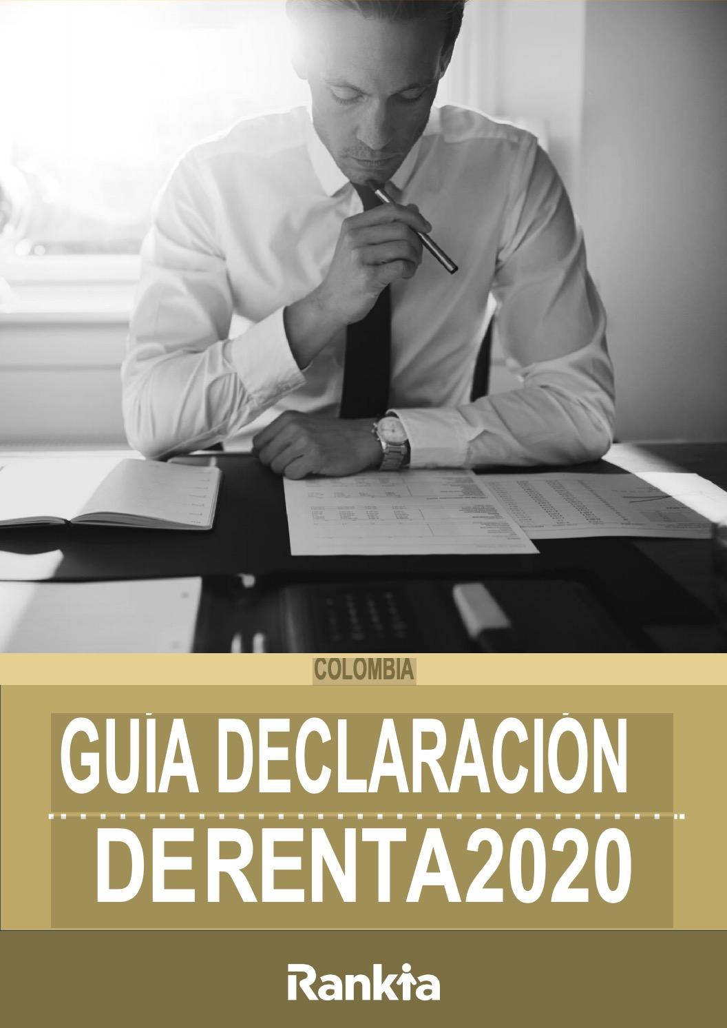 Manual declaración de renta 2020