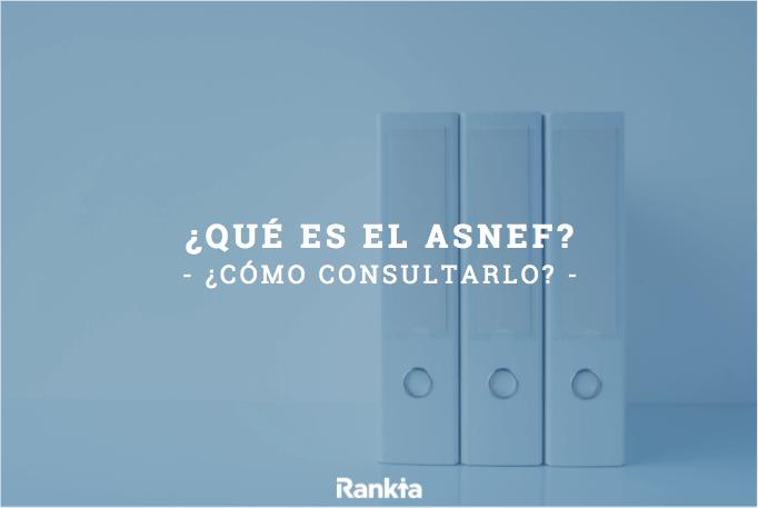 ASNEF: ¿Qué es? ¿Cómo consultar el ASNEF?