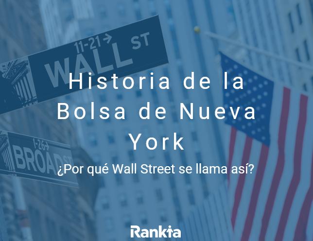 Historia de la bolsa de nueva york nyse