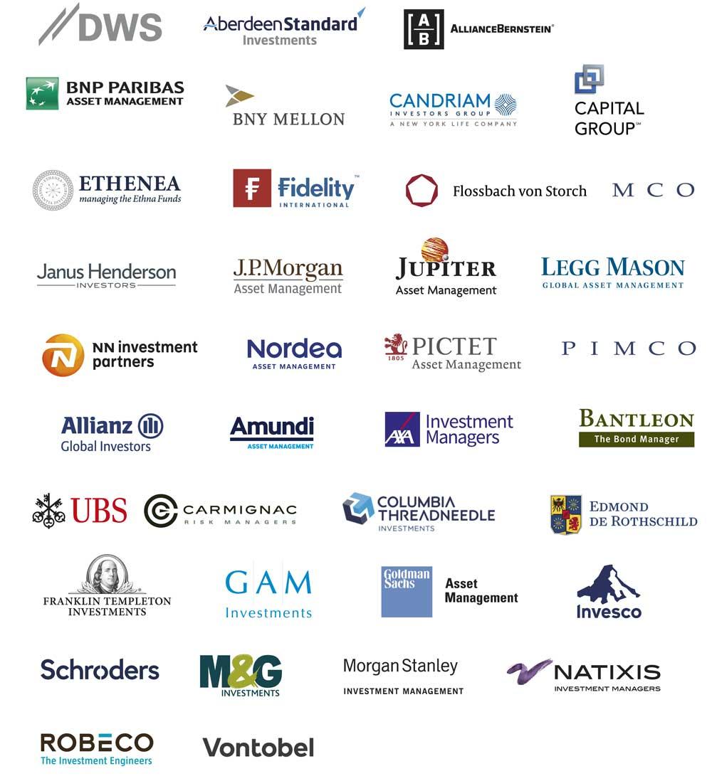 logos gestoras inversion fondos
