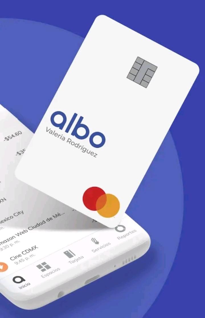 ¿Cómo solicitar tarjeta Albo?