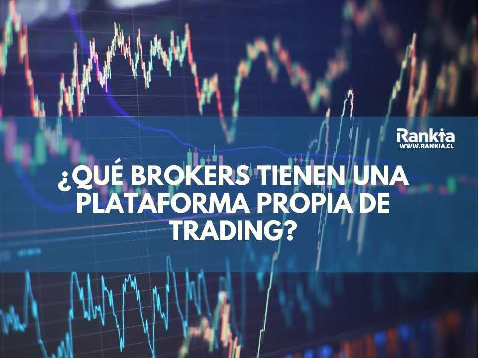 ¿Qué brokers tienen una plataforma propia de trading?