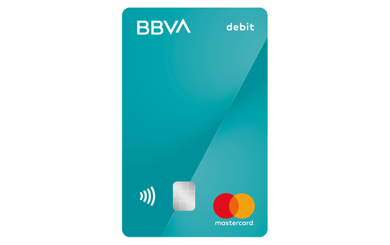 Tarjeta Mastercard Débito BBVA
