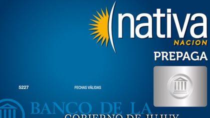 Mejores tarjetas prepagas 2021: Tarjeta Nativa