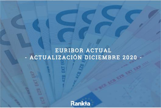 Nuevo mínimo histórico del Euribor en 2020, que se sitúa en el -0,497%