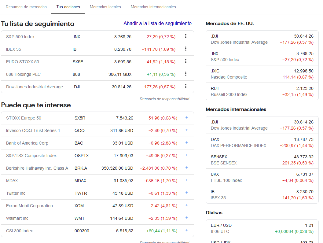 stock screener google finance