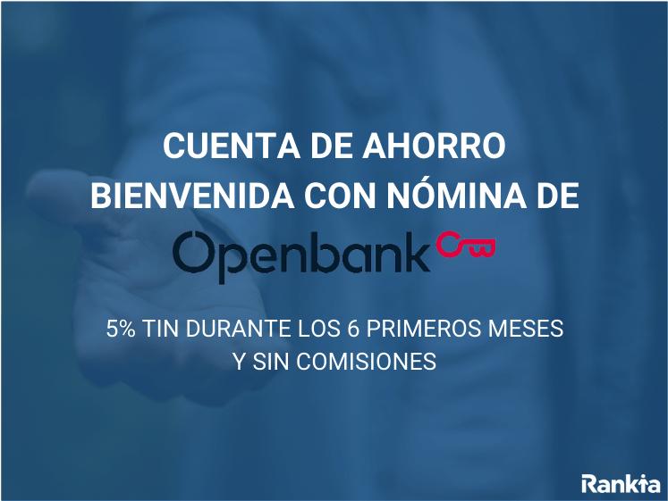 Cuenta de ahorro bienvenida openbank