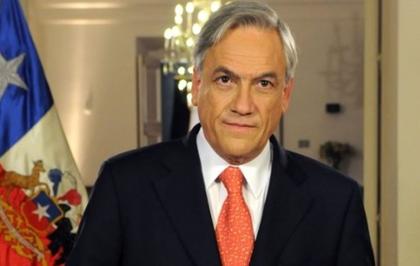 2. Sebastián Piñera y familia
