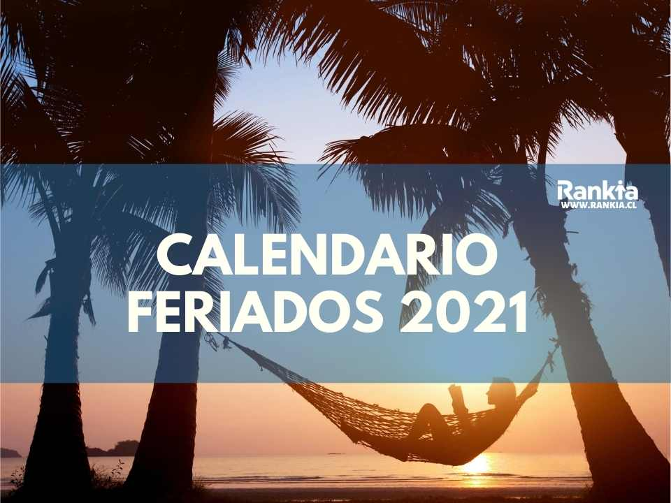 Calendario 2021 Chile con feriados