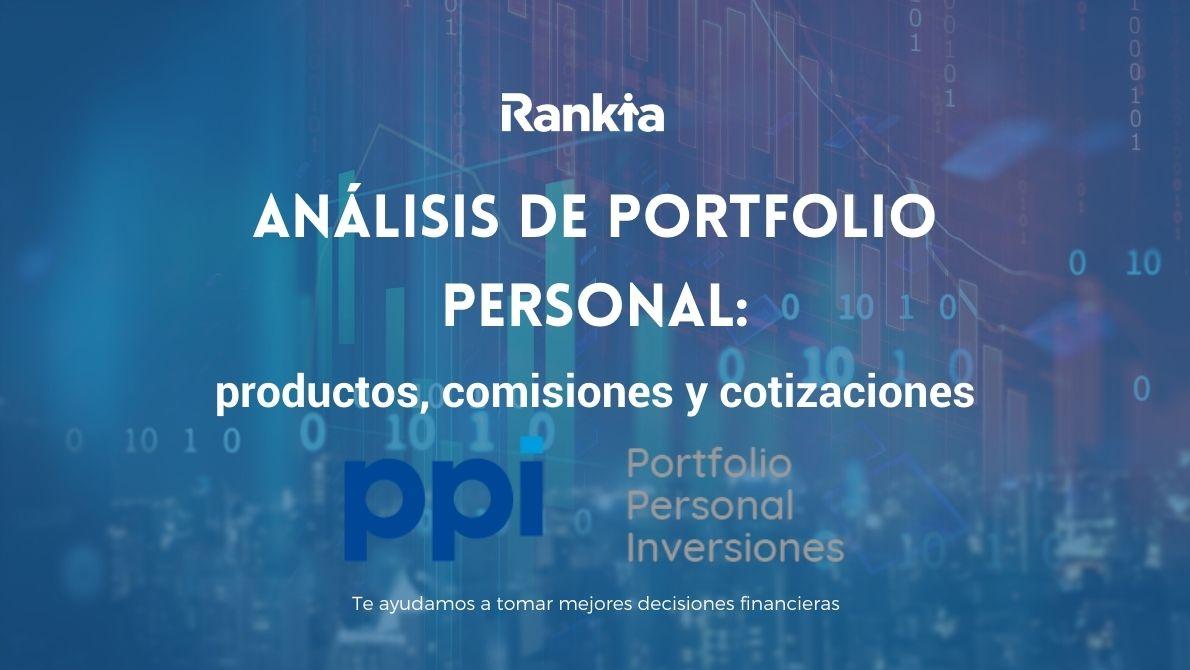 Portfolio Personal: productos, comisiones y cotizaciones