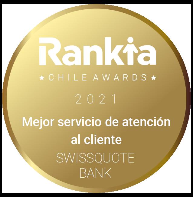 Swissquote Bank Ganador premio Rankia Chile