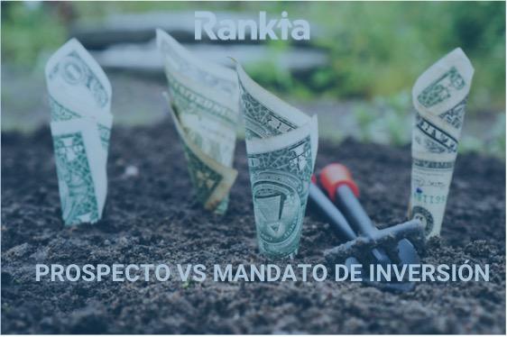 Prospecto de inversión vs mandato de inversión